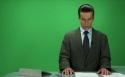 Making-of of the TV news scene and team-introduction